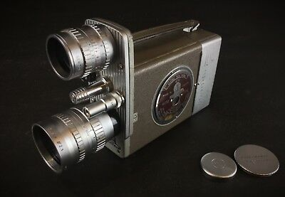 CAMERA BELL & HOWELL  Modèl auto load 603-T 16 mm + Angenieux 3 in + Taylor 1 in