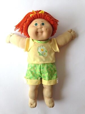 Cabbage Patch Kids Doll - Red Hair, Freckles, Green Eyes - Jesmar 1984 Spain
