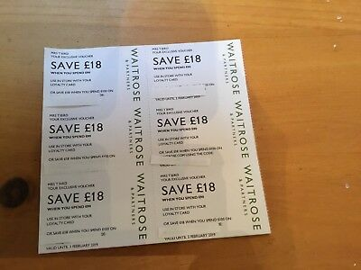 Waitrose Vouchers £108 Save £18 When You Spend £90 Gift Card