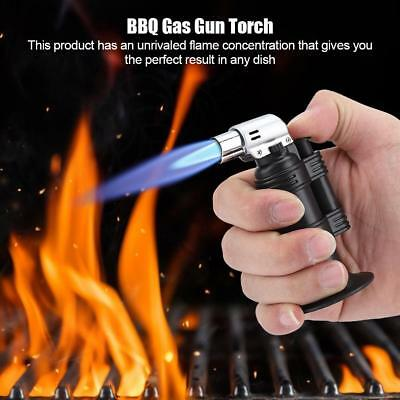 Windproof Welding Soldering Gun Mini Butane Gas Micro Blow Torch Lighter BBQ
