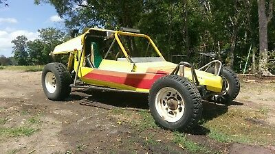 OFF ROAD BEACH RACE BUGGY, 1.8l Subaru engine, 4 speed gearbox.