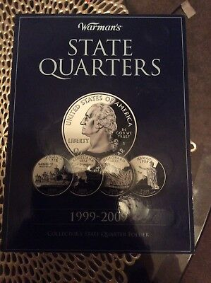 1999-2009 State Quarters Complete Set of 50 Coins