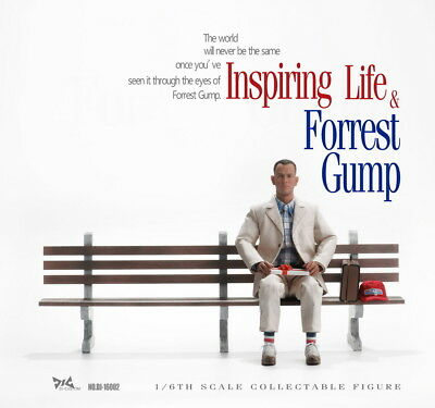DJ-CUSTOM The Movie Forrest Gump #DJ-16002 1/6th Scale Tom Hanks Action Figure