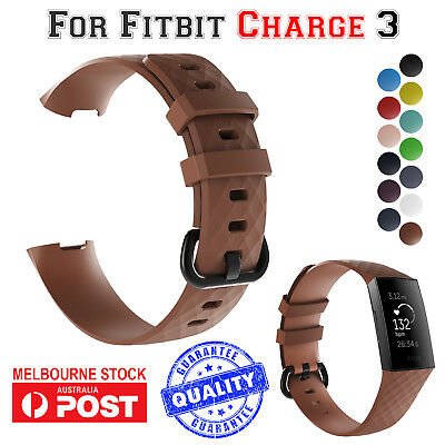 Luxe Watch Strap Band Bracelet Replacement Wristband For Fitbit Charge 3 AUS