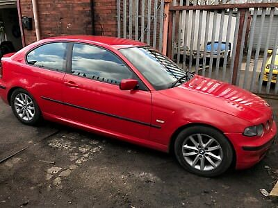 WIPER BLADE FOR A BMW E46 316ti 1.8 RED COMPACT breaking/spares parts repairs