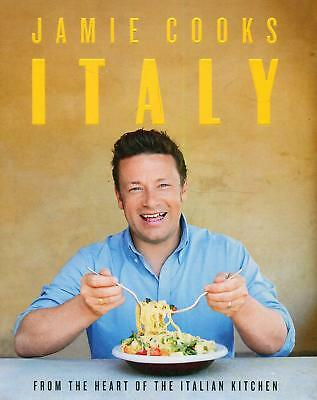 Jamie Cooks Italy by Jamie Oliver Hardcover Book