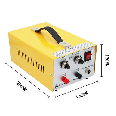 DX-30A 30A Jewelry Welding Machine Pulse Spot Welder Gold Silver Platinum 110V