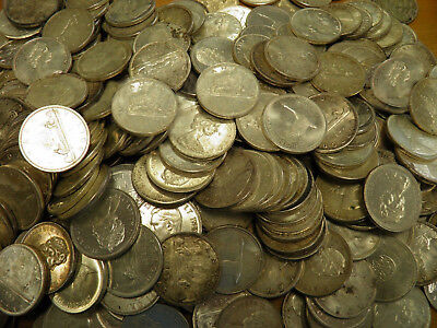 Lot of 20 Canada Silver Dollar Coins - Various Dates