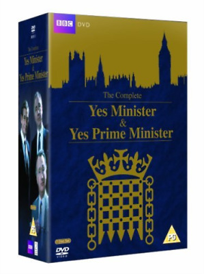Paul Eddington, Nigel Hawth...-Complete Yes, Minister and Yes, Prime Min DVD NEW
