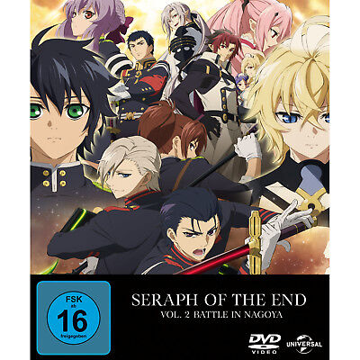 Seraph of the End Vol. 2 - Battle in Nagoya - Limited Premium Edition DVD Owari