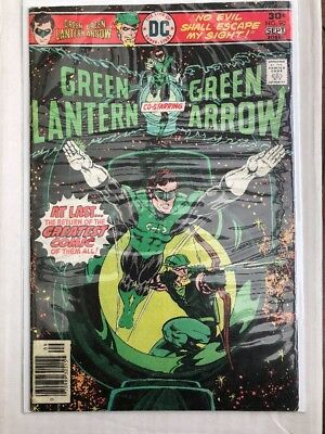 Green Lantern Green Arrow 90 Begin 3rd Team Up & Mike Grell Minor Key Classic Co