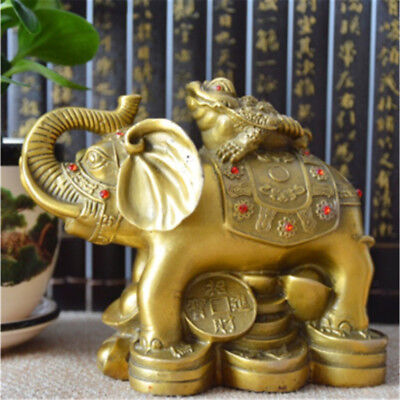 Chinese Frog Toad Feng Shui Money LUCKY Fortune Wealth Coin Blessed Ornament