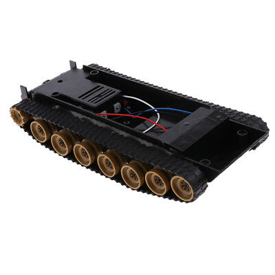 3-9V Tank Car Shock Absorbed Chassis Track Robotics for Arduino 130 Motor