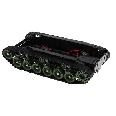 Intellectual Robot Smart Tank Car Chassis Shock Absorbed w/Motor for Arduino