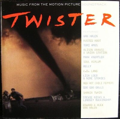 "Various Artists ""Motion Picture Soundtrack - ""Twister"" 1996 CD Compact Disc"
