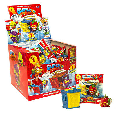 SUPERZINGS - RIVALS OF KABOOM SERIES 1 HIDEOUT X 10 packs