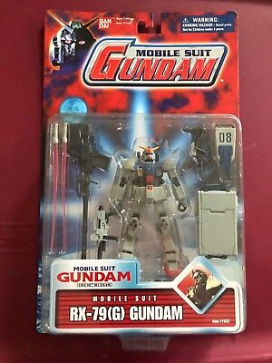 Bandai Mobile Suit 08th Gundam RX-79 Ground Action Figure MSIA lot