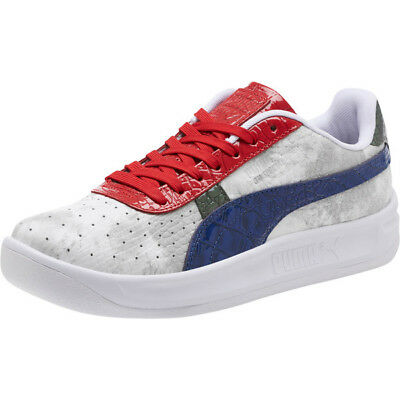 new concept 26399 b62df PUMA GV SPECIAL Gator White # 368304 01 White Navy Red Men SZ 8 - 13