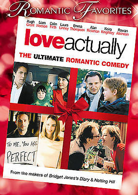 Love Actually (DVD) wide screen and 2 full screens