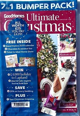 Good Homes Magazine Ultimate Christmas December 2018 ~ With Free 2019 Calendar#