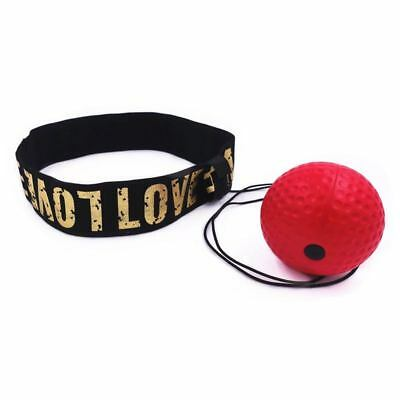 Boxing Reflex Speed Punch Ball Sanda Boxer Raising Reaction Force Hand Eye H2P3