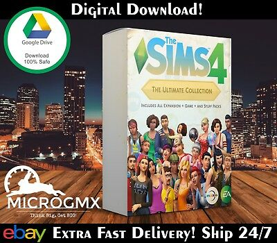 🔥The Sims 4 Collection 🔥 64 Bit Only - NOT Origin - NOT Key - Full Installer✔️
