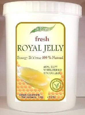 ROYAL JELLY PURE AND FRESH (1kg / 2.2 lb) - Free Priority Shipping