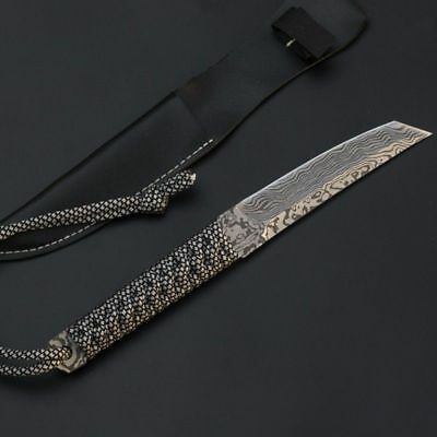 Ring Straight Knife Portable Keychain Tactical Rescue Survival Outdoor Tool YH