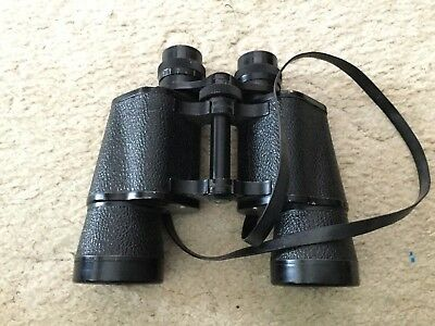 Vintage Antique Omega coated lens binoculars 30 x 50 Field 5 with case no.6718