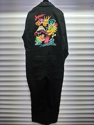 """japan Mt. Fuji Dragon"" Custom Sukajan Coverall By Fumicloth 