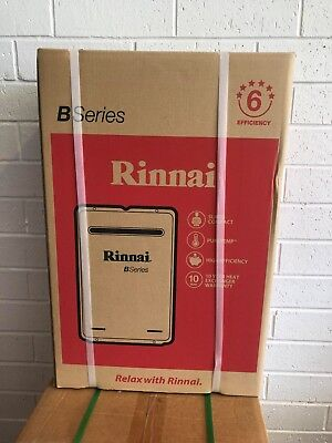 New Rinnai Builders Series B16 Instant Hot Water System Natural Gas or LPG 60°