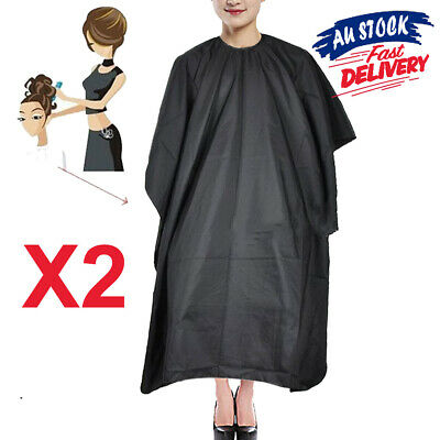 2pcs Salon Pro Barber Cloth Hairdressing Cape Cutting Styling Hair Nylon Gown
