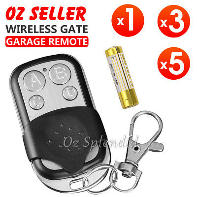 Lots of 433mhz Universal Roller Shutter Gate Garage Door Key Fob Remote Control