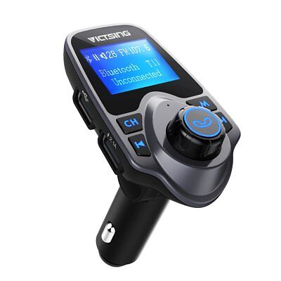 VTIN Bluetooth Car FM Transmitter Wireless Radio Adapter USB Charger Mp3 Player