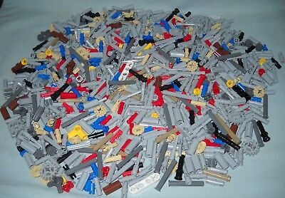 1000 New Lego Technic Pieces, Great Variety Of Pins, Gears, Bushings, Connectors