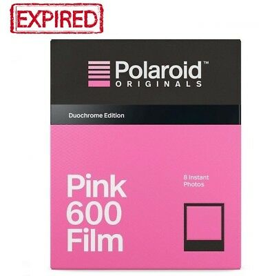 DISCONTINUED! Polaroid Originals BLACK & PINK Duochrome 600 OneStep Instant Film