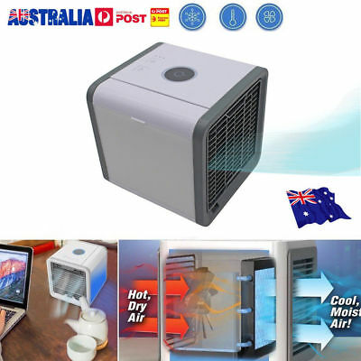 Portable Mini Air Conditioner Cool Cooling For Bedroom Arctic Air Cooler Fan UE