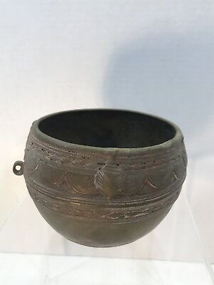 Antique Design Tibetan Bowl Chinese Nepal Rice Measuring India Design