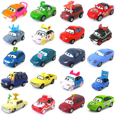 Disney Pixar Cars & Cars 2 Fans Metal Toy Car 1:55 Diecast New In Stock