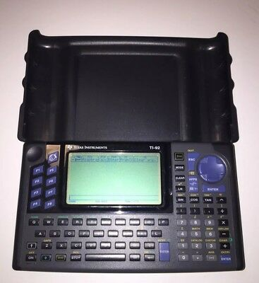 texas instruments calculator ti 92