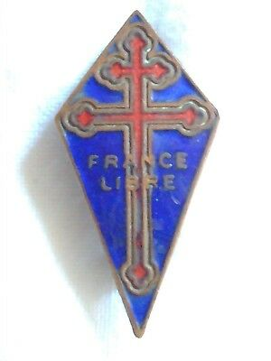 Collectable - France Libre - Vintage - Badge - Pin