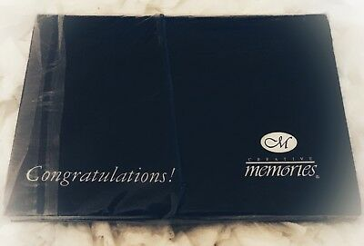 Creative Memories Congratulations Scrapbook Photo/Sticker Holder Sealed