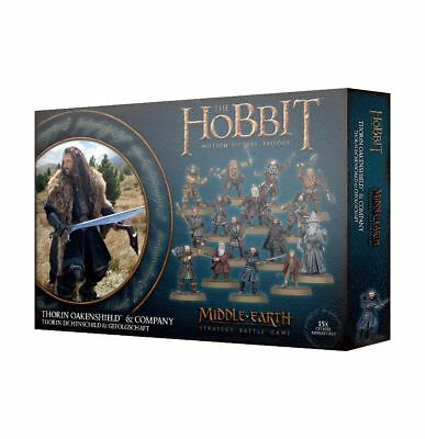 Warhammer Thorin Oakenshield & Company The Lord of the Rings new