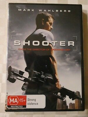 Shooter (DVD, 2007), Mark Wahlberg, Brand New and Still Sealed