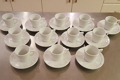 1 cappuccino Cup saucer Frank Lloyd Wright Collection Guggenheim Krups 1998 mugs