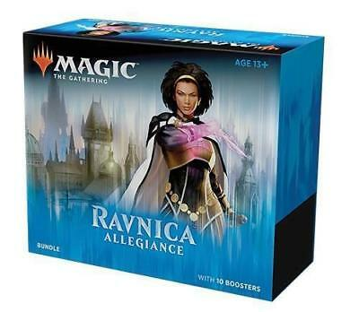 MTG Magic The Gathering Ravnica Allegiance Bundle Fat Pack Contains 10 Boosters