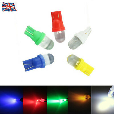 10X T10 501 W5W 194 Xenon LED Car Side Interior / Number Plate Light Bulb