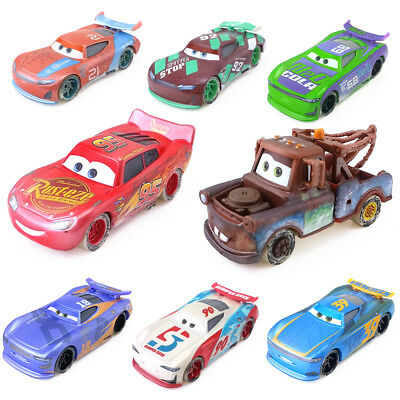 Disney Pixar Cars 3 Fireball Beach Racers 1:55 Diecast Metal Toy Car Boys Gift