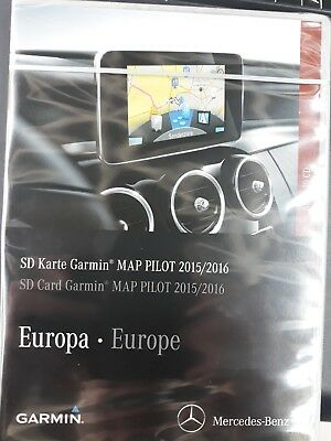 Mercedes Benz Garmin® MAP PILOT SD Karte Version 2015/2016, A2189064501