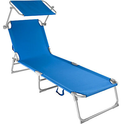 CHAISE LONGUE DE jardin Transat Pliable Pare-soleil - Bain de soleil on chaise sofa sleeper, chaise recliner chair, chaise furniture,